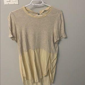 Wilfred light tan Tshirt size L